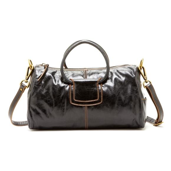 228f5a63ae46 HOBO Handbags - Hobo SHELBY convertible satchel cross body BLACK